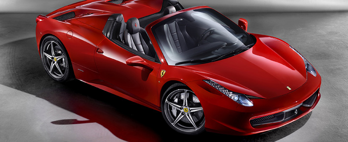 Haute Autos: The New Ferrari 458 Spider