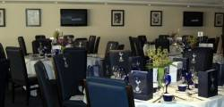 An executive box at Tottenham Hotspurs