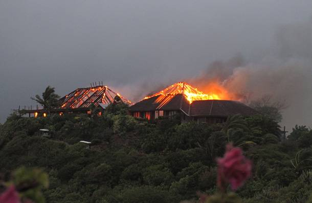Sir Richard Branson's $70 Million Caribbean Home Burns Down