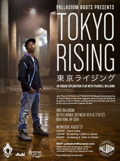 Haute 100 Update: Pharrell makes Doc-Style Film about Tokyo in the Wake of Disaster