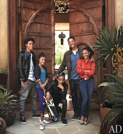 Haute 100 Update: Will and Jada Pinkett Smith's Luxe Malibu Home Featured in Architectural Digest [PHOTOS]