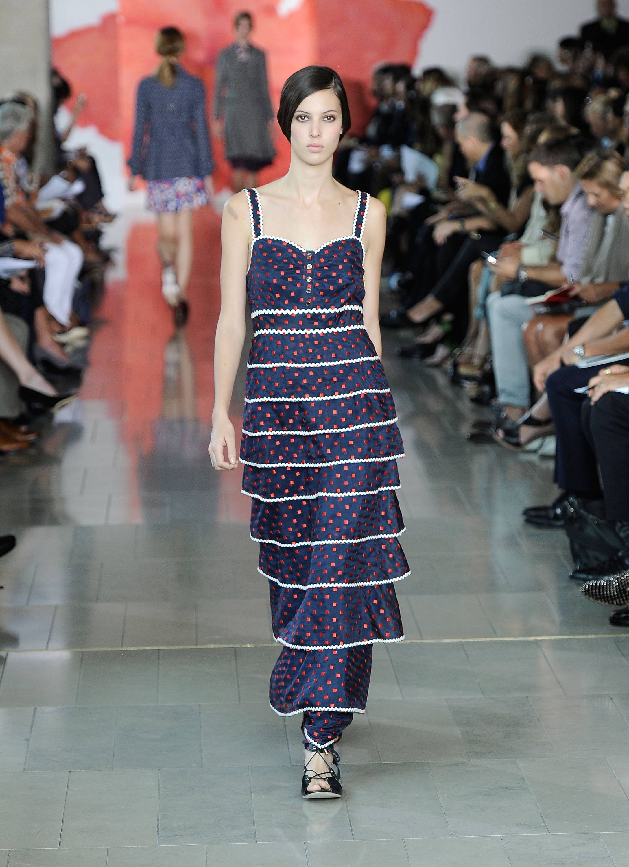 Tory Burch Runway Presentation 10, Mercedes Benz Fashion Week, s/s 2012