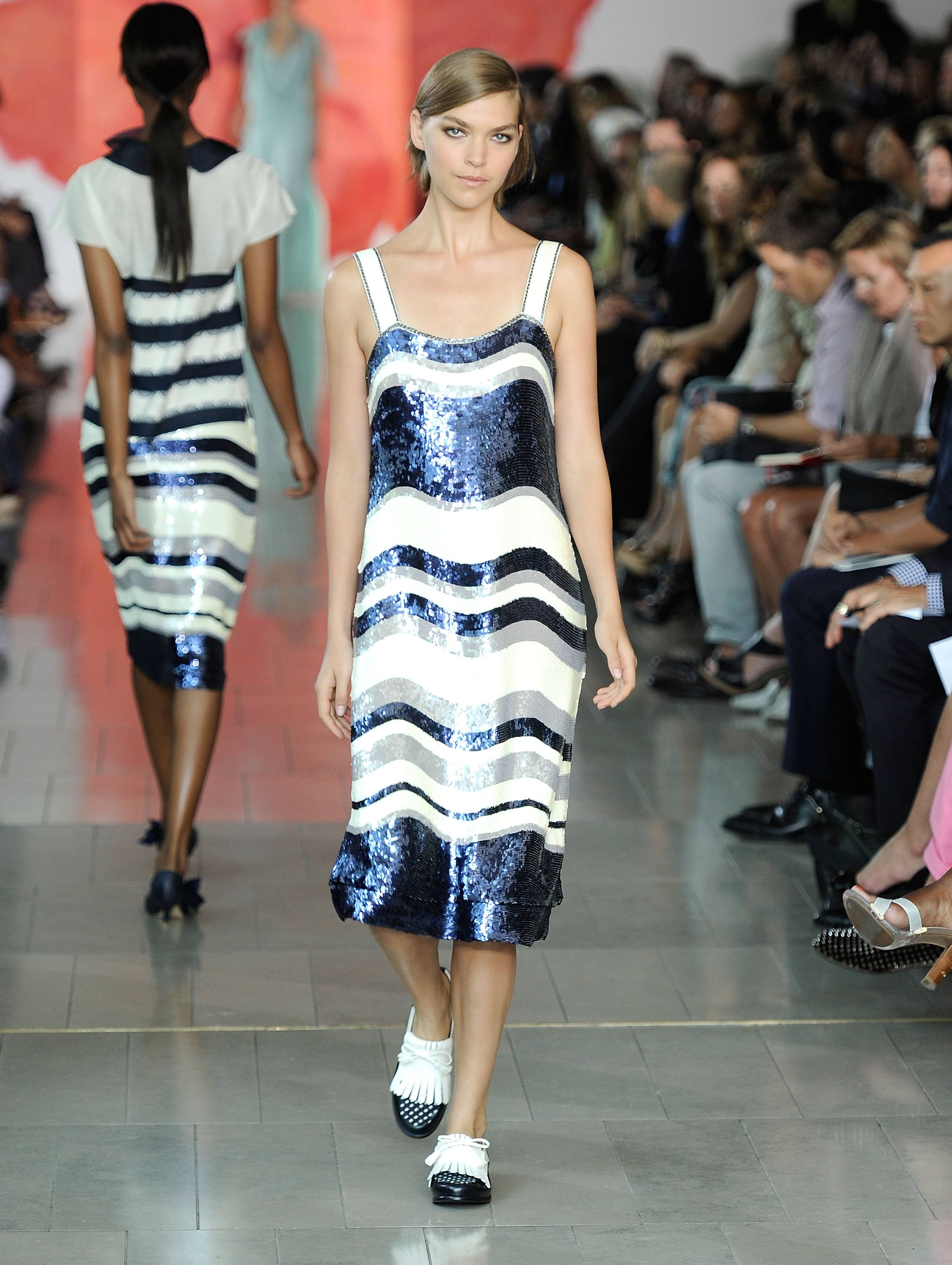 Tory Burch Runway Presentation 7, Mercedes Benz Fashion Week, s/s 2012