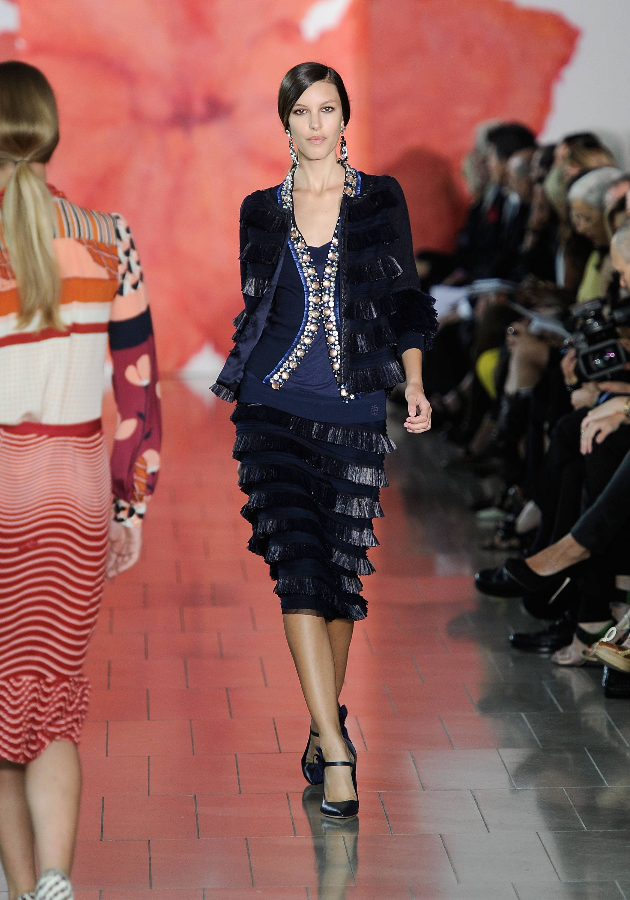Tory Burch Runway Presentation 2, Mercedes Benz Fashion Week, s/s 2012