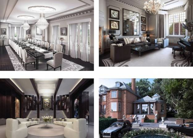London's $117 Million Computer-Generated Mansion Hits The Market