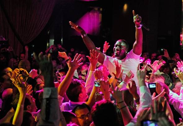Haute Event: Akon, Nicole Scherzinger, Maxwell, Flo Rida and Boyz II Men Perform at Chateau Nightclub