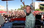 Swedish DJ Avicii spun at Wet Republic's F*** Me I'm Famous! pool party.