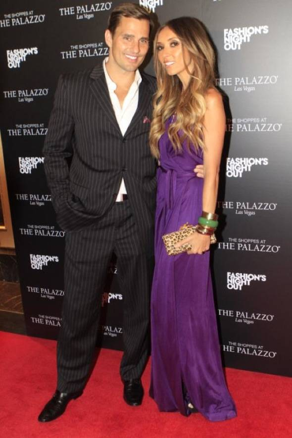 Haute Event: Giuliana and Bill Rancic Host Fashion's Night Out at the Shoppes at the Palazzo