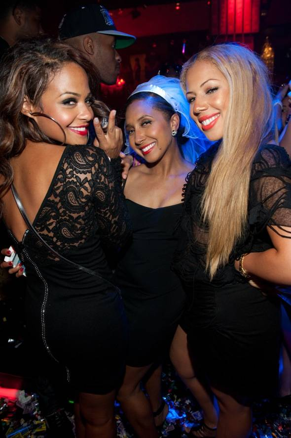 Christina Milian at TAO Nightclub