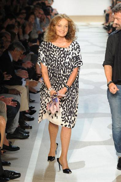 United We Stand: Diane von Furstenberg Puts On a Show for All Americans