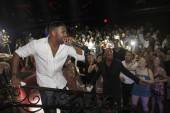 Ginuwine performs at LAX Nightclub.