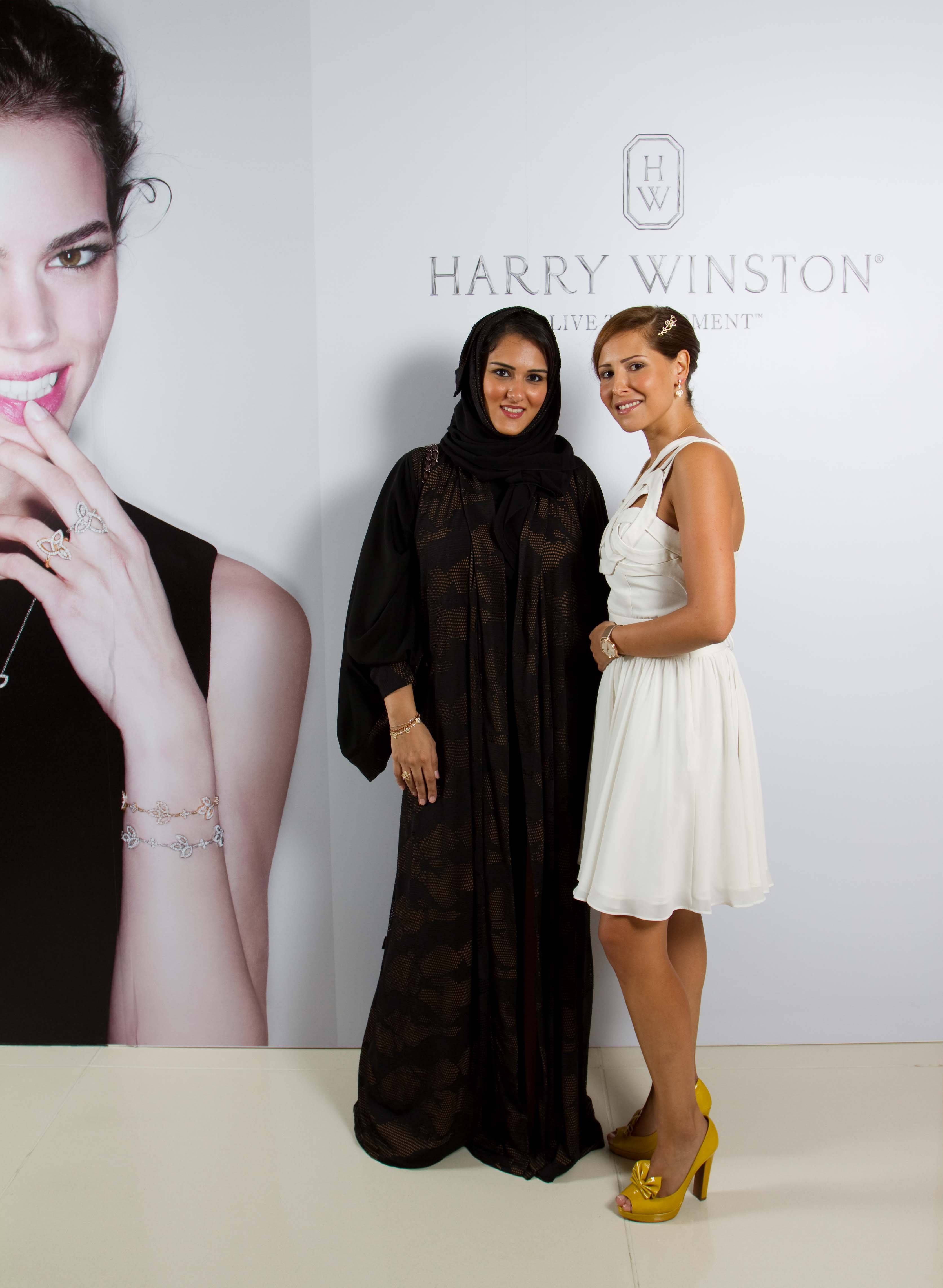 Harry Winston Lily Cluster Launch