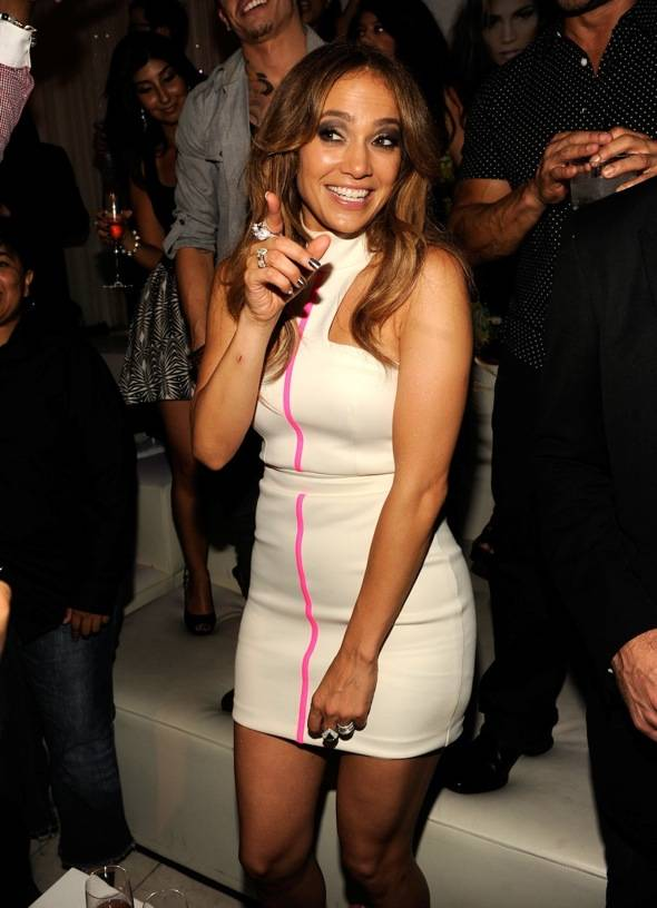 Haute Event: Jennifer Lopez Makes a Special Appearance at Pure Nightclub