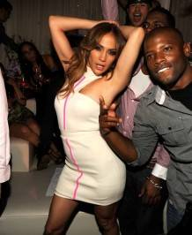 Jennifer Lopez dances at Pure Nightclub.