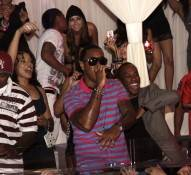 Jeremih performs at Pure Nightclub.