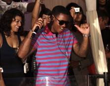 Jeremih at Pure Nightclub at Caesars Palace.