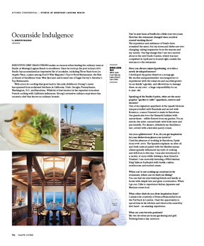 Studio at Montage Laguna Beach Executive Chef Craig Strong Talks About The Great Outdoors in this issue of Haute Living Los Angeles