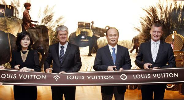 Louis Vuitton Opens At Incheon International Airport