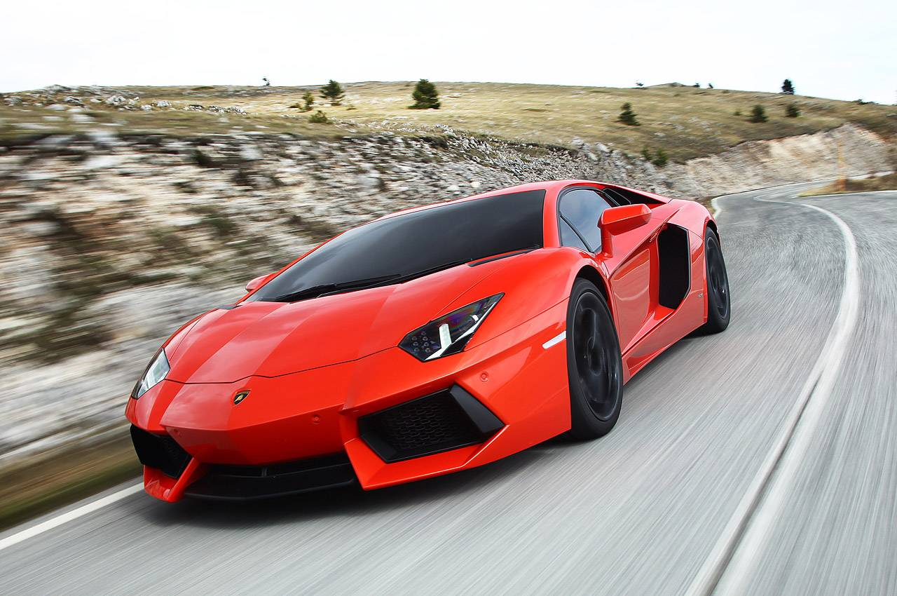 2012 Lamborghini Aventador LP700-4 at Jay Leno's Garage