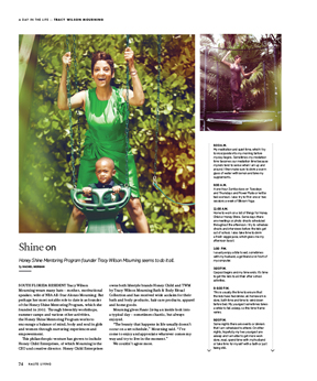In This Issue of Haute Living Miami: A Day in the Life of Wife, Mother and Philanthropist Tracy Wilson Mourning