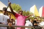 Diddy performs at the Palms Pools & Bungalows on Sunday.