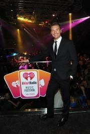 TV personality Ryan Seacrest attends the iHeartRadio Music Festival official closing party held at Haze Nightclub.