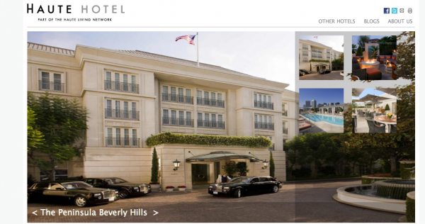 Haute Hotel: The Peninsula Beverly Hills