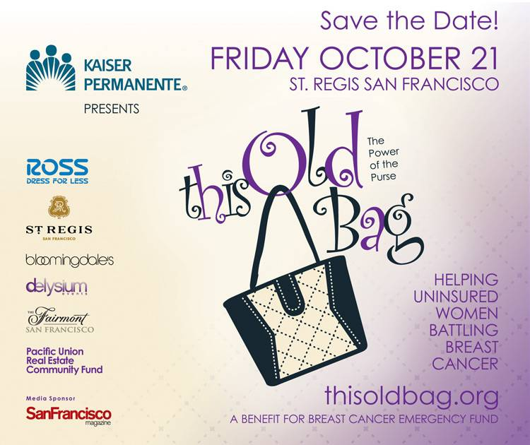 Haute Event:  This Old Bag Gala for the Breast Cancer Emergency Fund
