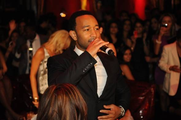 Haute Event: John Legend and Chrissy Teigen Head to Tryst Nightclub after the Sade Concert