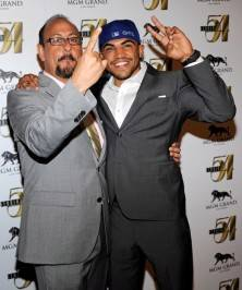 Rolando Arellano and Victor Ortiz at Studio 54.
