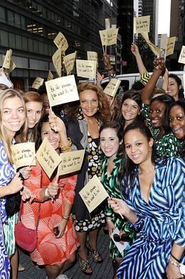 Diane Von Furstenberg Debuts Signature Fragrance at Bloomingdales