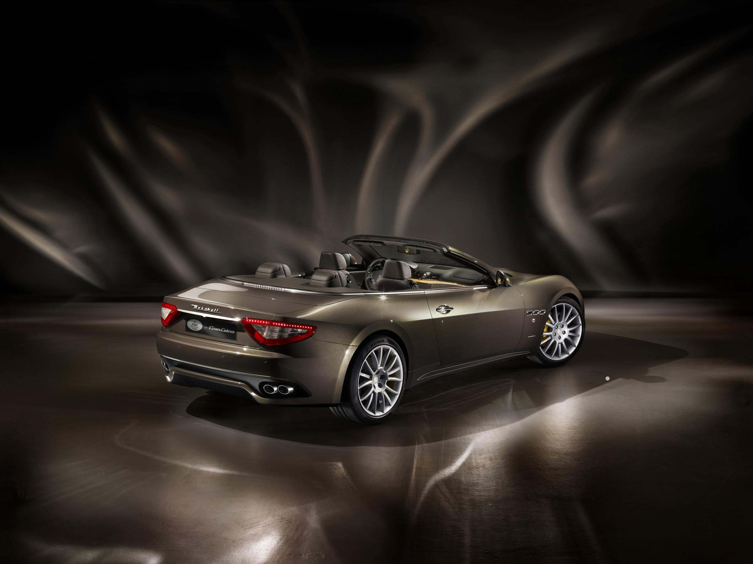The Fast and the Fashionable: The Maserati GranCabrio Fendi