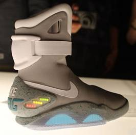 """Back to the Future"" Limited Edition Nike Air Mags Sold for $37,500"