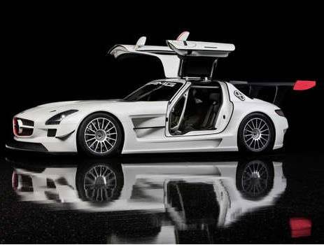 Mercedes SLS AMG Black Series Coming; GT3 Version Not for U.S.
