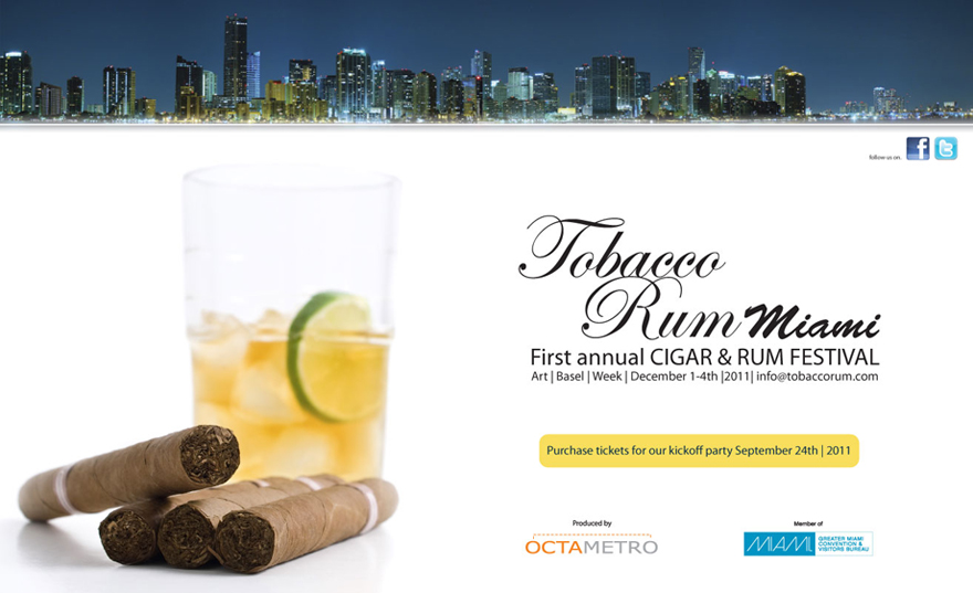 HAUTE EVENT: MIAMI INTERNATIONAL WINE FAIR CELEBRATES 10 YEARS WITH OFFICIAL AFTER PARTY HOSTED BY TOBACCORUM MIAMI