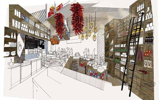 El Cantara Deli  spices  up Westfield Stratford City