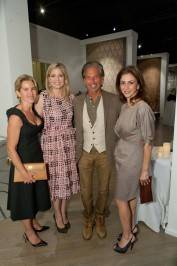 Children of Shelters Board Members Summer Tompkins Walker & Jenna Liddell Hunt, Restoration Hardware CEO Gary Friedman, & Children of Shelters Board Member