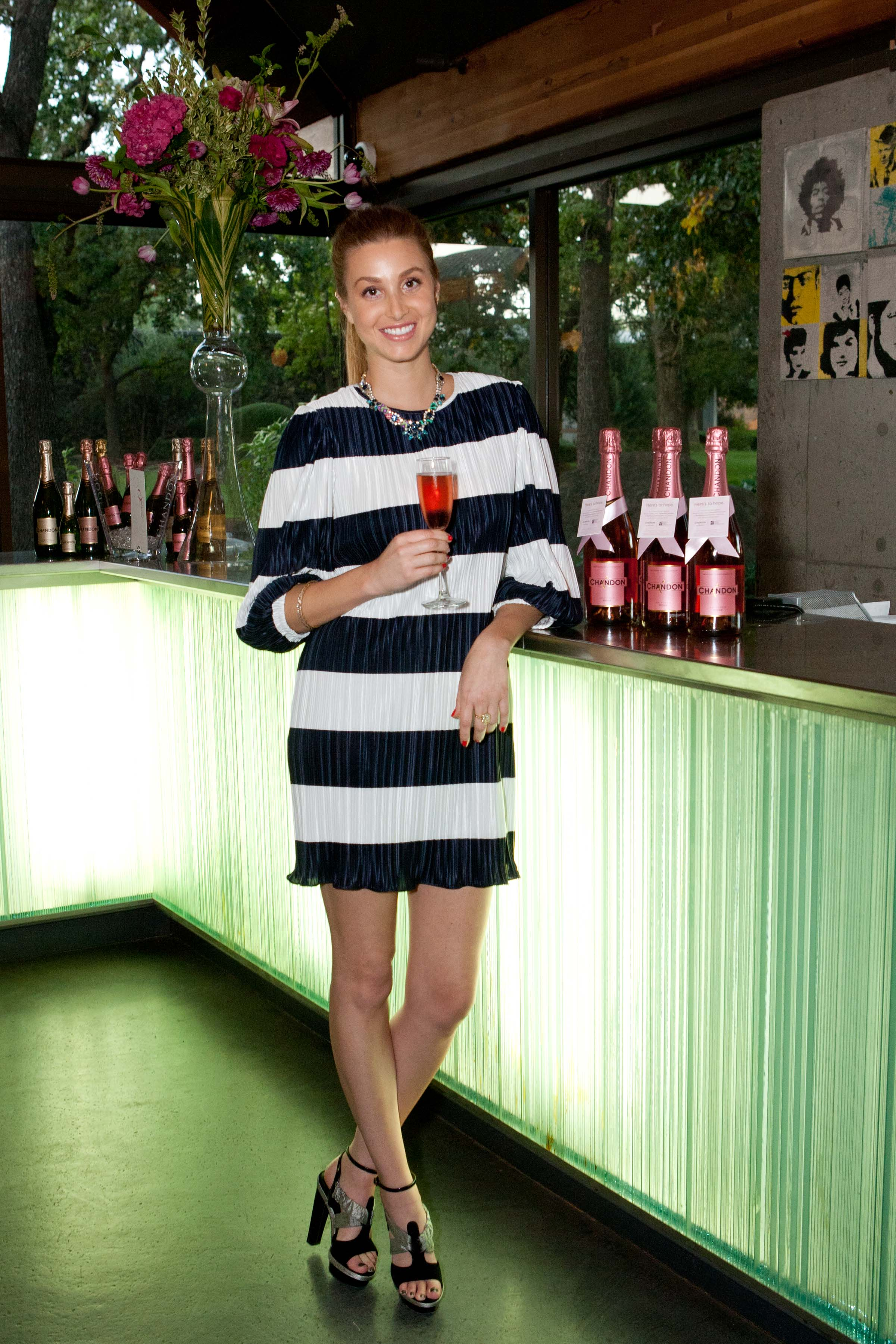 Haute Event Recap: Domaine Chandon Winery Hosts Whitney Port At National Breast Cancer Foundation Benefit