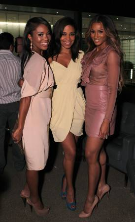 Gabrielle Union, Sanaa Lathan and Ciara