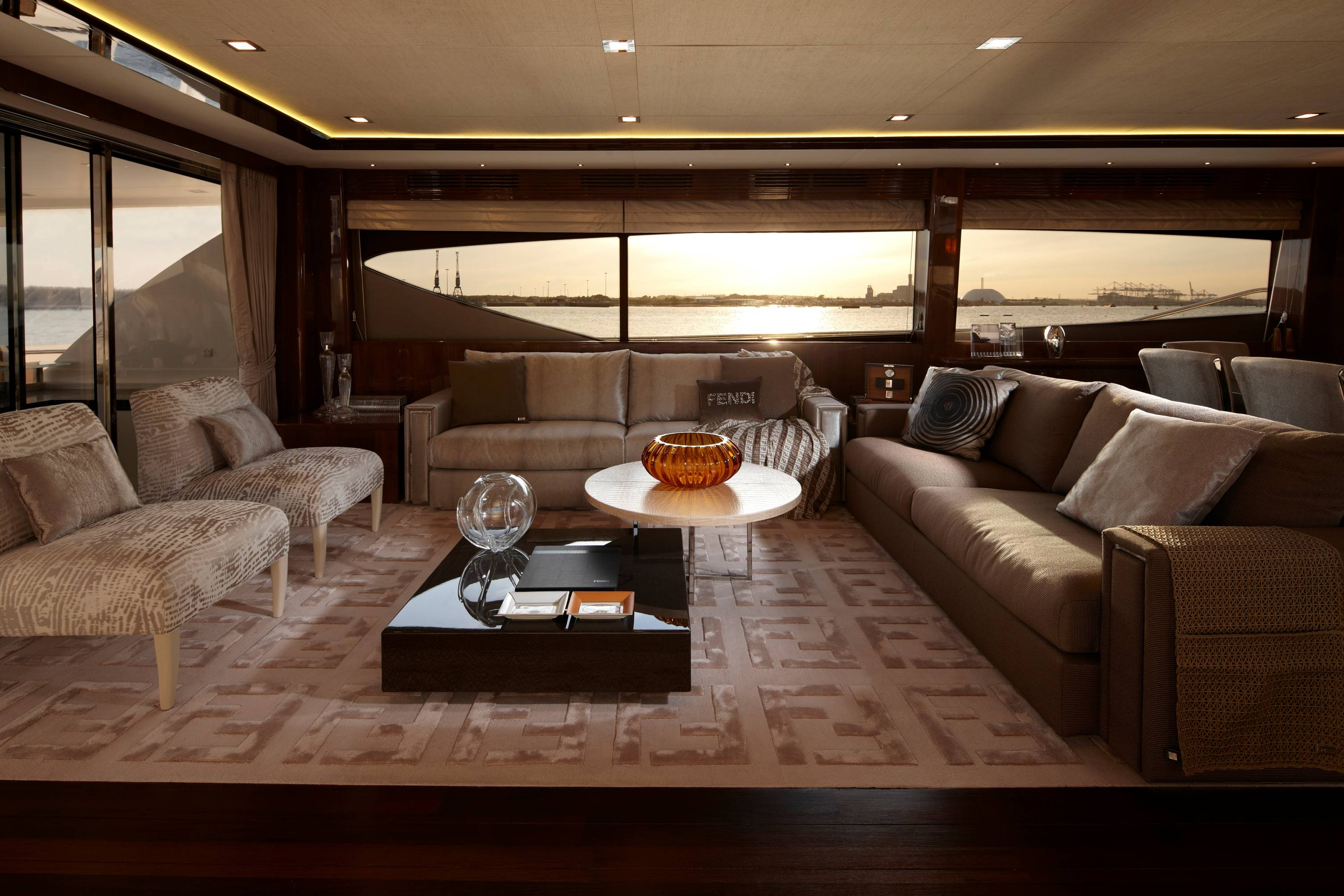 Princess Yachts International and Fendi Casa Present the Princess 98 Motor Yacht