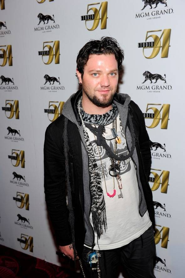 Bam Margera on red carpet at Studio 54, Las Vegas 2 10.01.11