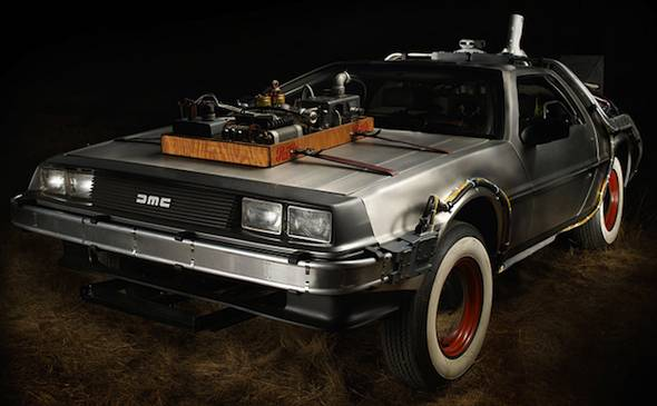 Electricity Takes DeLorean Back to the Future