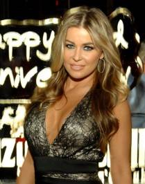 Carmen Electra poses at Crazy Horse III.