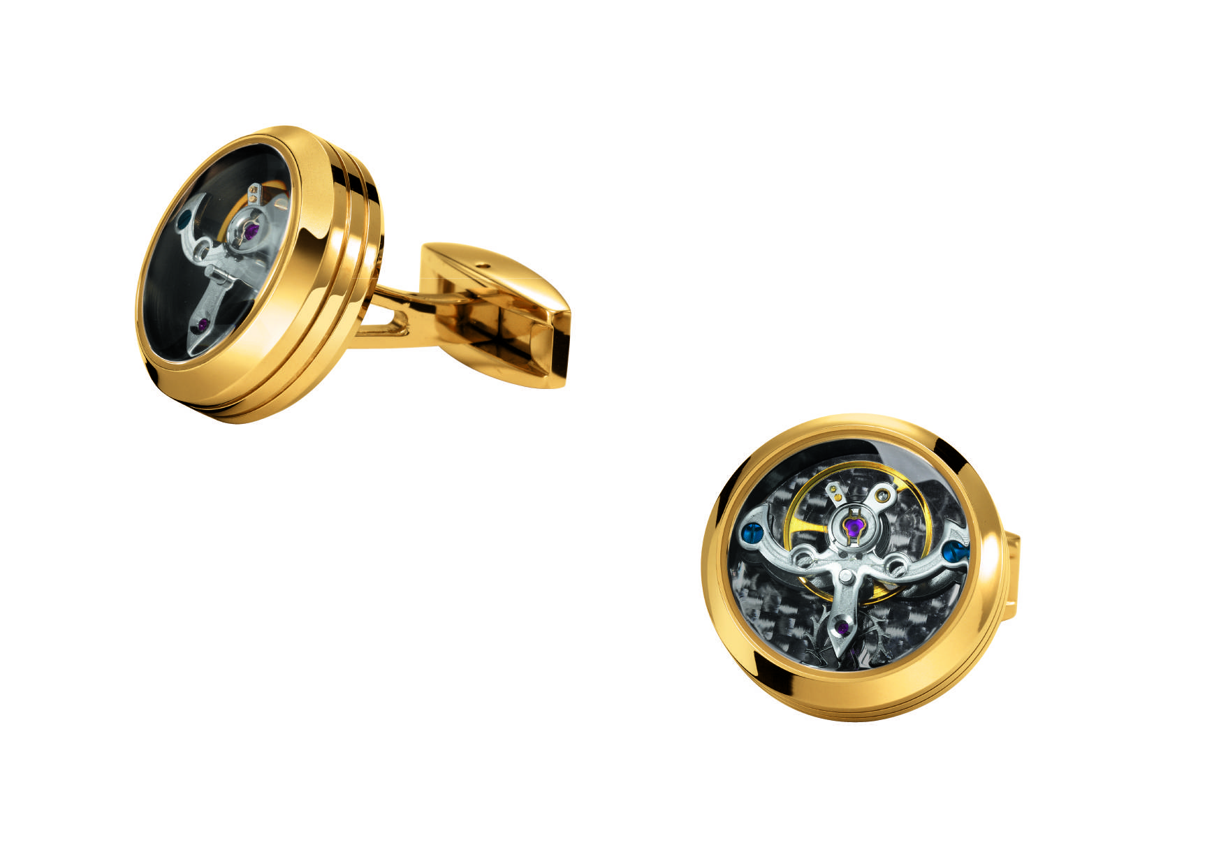 Tourbillon Cuff Links Arrive at Lustre Precious Gems