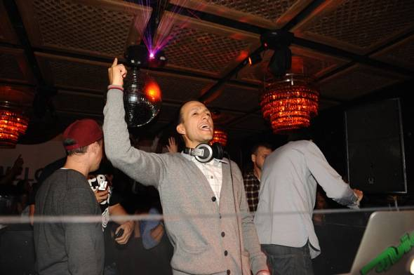 Haute Event: DJ Vice Celebrates His Birthday with Shaun White and Evan Ross on Hand at Lavo