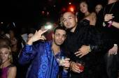 Drake celebrates his birthday at TAO with MARTINI Moscato d'Asti