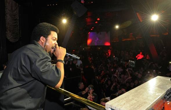 Haute Event: Ice Cube Performs at Chateau Nightclub