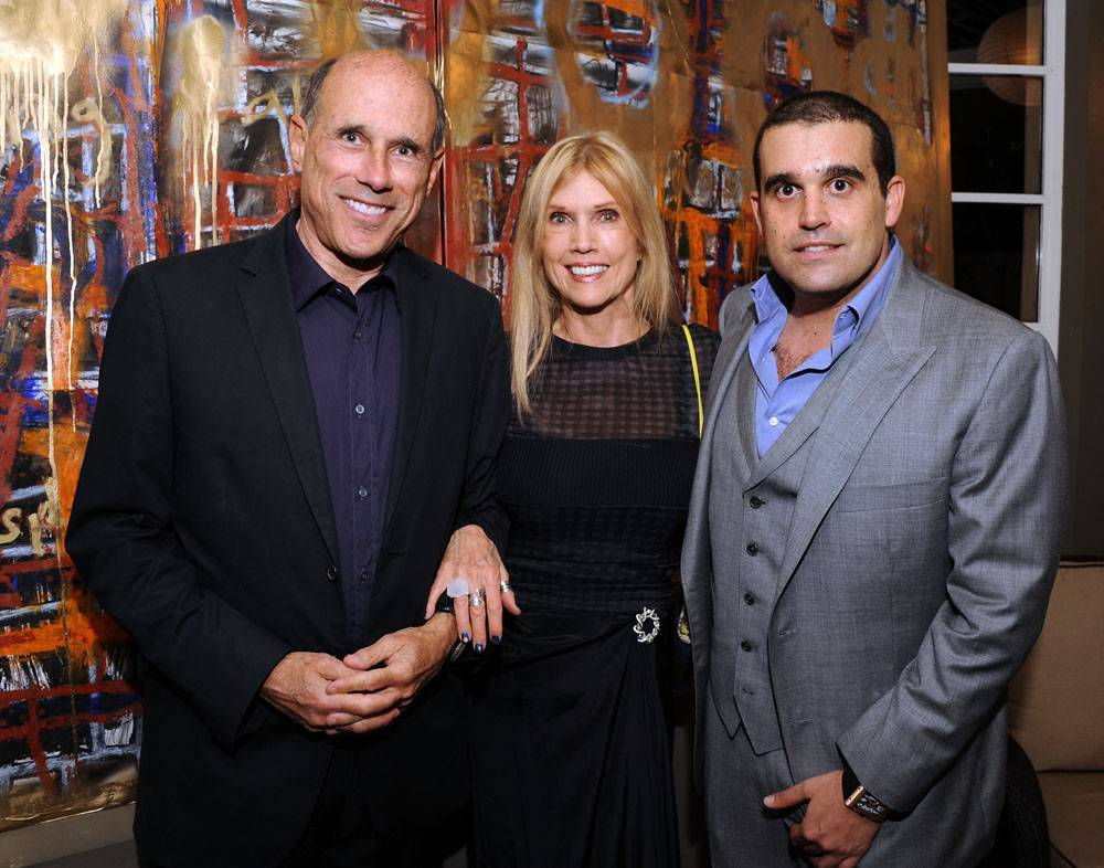 JEFF AND LORI HYLAND WITH HAUTE LIVING PUBLISHER, SETH SEMILOF