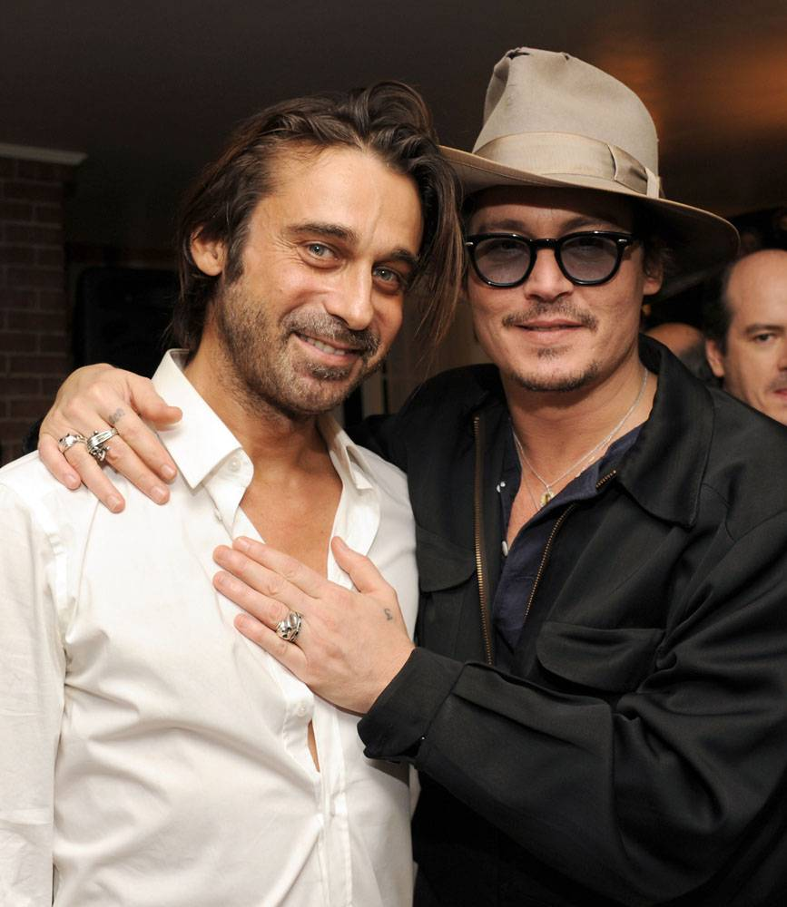 JORDI MOLLA AND JOHNNY DEPP