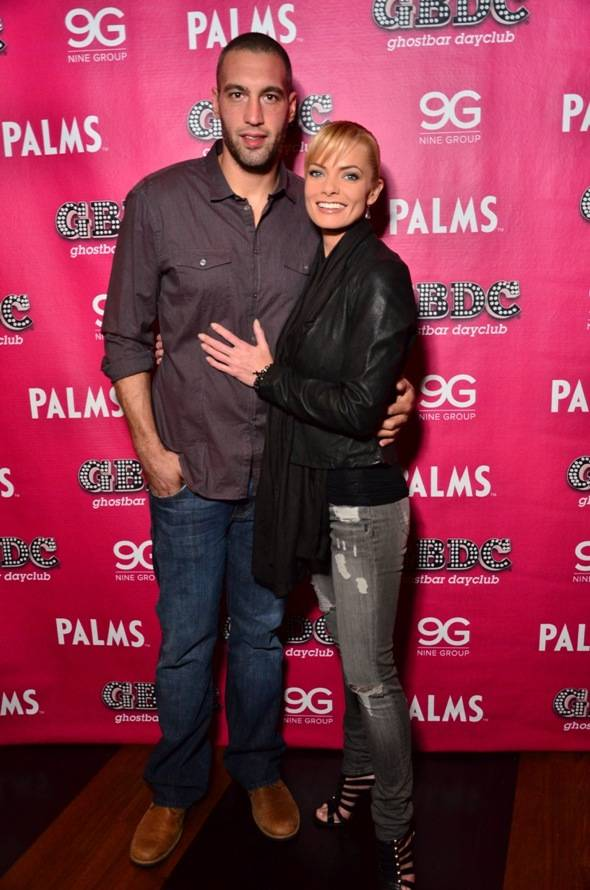 Haute Event Jaime Pressly And Her New Boyfriend Hamzi